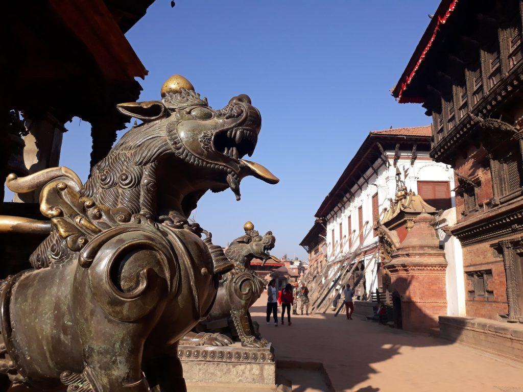 Bhaktapur Burbar square
